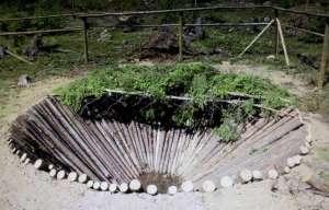 fångstgrop på Sergeantberget i Föne